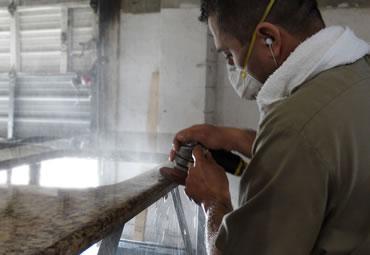 Custom granite fabrication