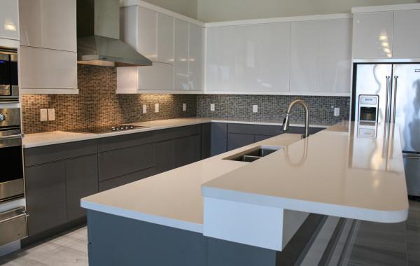White Quartz Kitchen