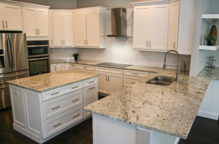 White Marfina Kitchen