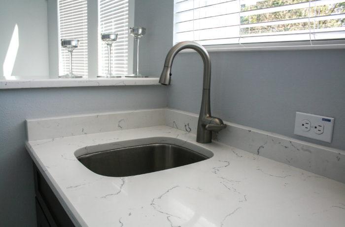 Dallas White Bar Sink