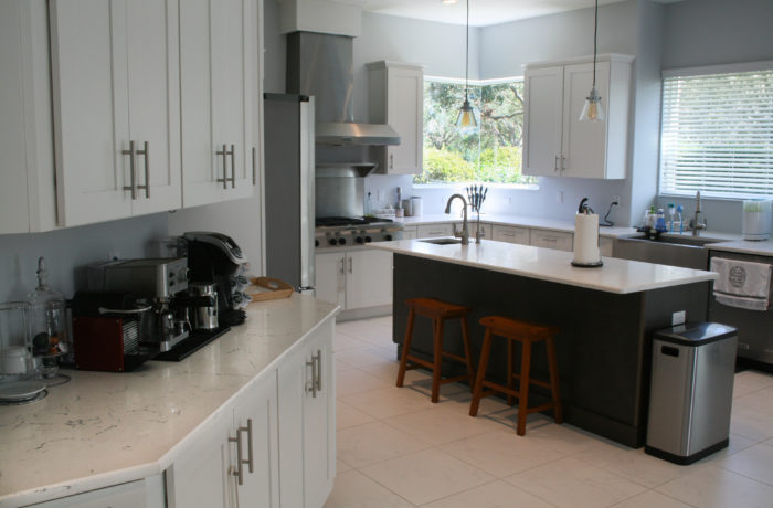 Dallas White Kitchen