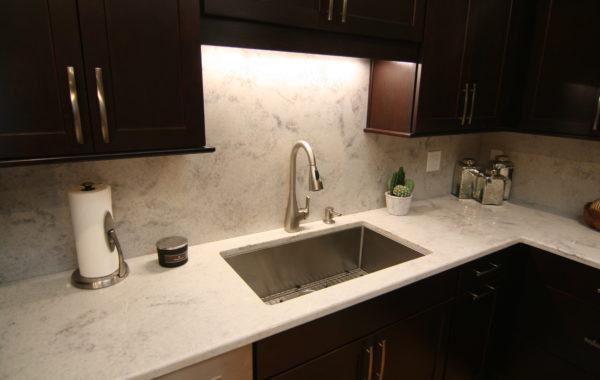 Marble Mist Quartz Kitchen Sink