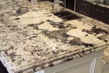 White Kitchen Countertop Repair Orlando FL